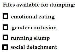 dumping files