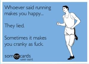cranky running